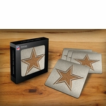 Dallas Cowboys Boasters Stainless Steel Coasters - Set of 4