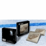 Detroit Red Wings Boasters Stainless Steel Coasters - Set of 4