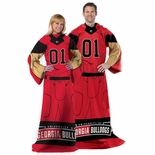 Georgia Bulldogs Full Body Comfy Throw Blanket