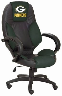 Green Bay Packers NFL Leather Office Chair