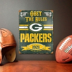 Green Bay Packers Vintage Metal Sign