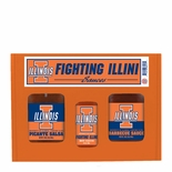 Hot Sauce Harry's Illinois Fighting Illini Tailgate Kit