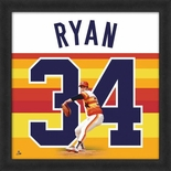 Houston Astros Nolan Ryan Uniframe Framed Jersey Photo