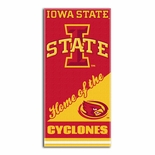 Iowa State Cyclones Home Beach Towel