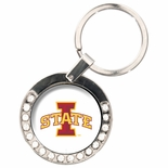 Iowa State Cyclones Rhinestone Key Chain