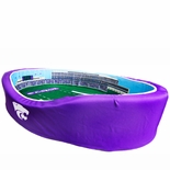 Kansas State Wildcats Football Stadium Pet Bed