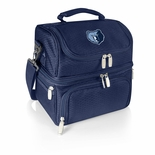 Memphis Grizzlies Navy Pranzo Insulated Lunch Box