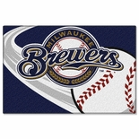 "Milwaukee Brewers 20"" x 30"" Tufted Rug"