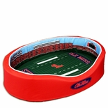 Mississippi Rebels Football Stadium Pet Bed