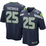 Nike NFL Seattle Seahawks Richard Sherman Youth Replica Football Jersey