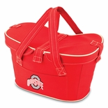Ohio State Buckeyes Red Mercado Picnic Basket