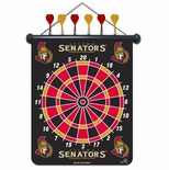 Ottawa Senators Magnetic Dart Board