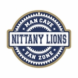Penn State Nittany Lions Man Cave Fan Zone Wood Sign