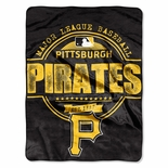 Pittsburgh Pirates Triple Play Throw Blanket