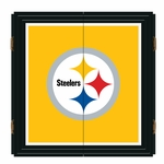 Pittsburgh Steelers Extreme Fan Dartboard Cabinet Set