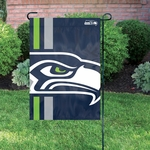 Seattle Seahawks Bold Logo Garden Flag