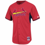 St. Louis Cardinals Authentic Batting Practice Baseball Jersey