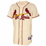 St. Louis Cardinals Authentic Ivory Alternate Baseball Jersey