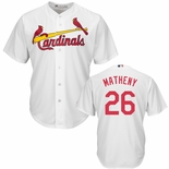 St. Louis Cardinals Mike Matheny Replica Home Baseball Jersey