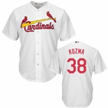 St. Louis Cardinals Pete Kozma Replica Home Baseball Jersey