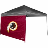 Washington Redskins 10' x 10' Straight Leg Canopy Wall