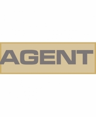 Agent Patch Small (Tan)