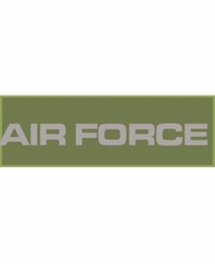 AIR FORCE Patch Small (Olive Drab)