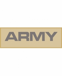 Army Patch Large (Tan)