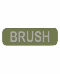 BRUSH Patch Large OD