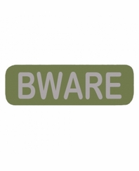 BWARE Patch Large OD