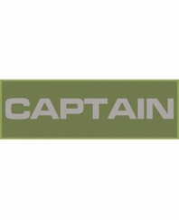Captain Patch Large (Olive Drab)