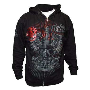 Contract Killer Zip Hoodie - PREDATOR