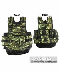 Counterstrike Paintball Vest CADPAT
