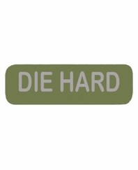 DIE HARD Patch Small OD