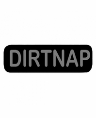 DIRTNAP Patch Small Black