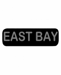 EAST BAY Patch Large (Black)