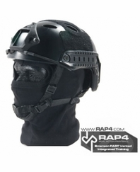 Emerson FAST Vented Integrated Training Helmet Black