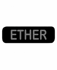 ETHER Patch Small Black