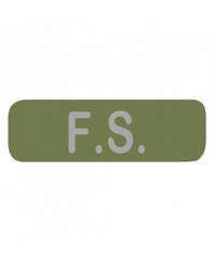 F S  Patch Large OD