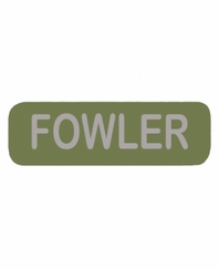 FOWLER Patch Large OD
