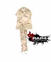 Fusion BDU Jacket and Pants Package Desert Camo