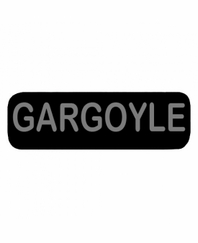 GARGOYLE Patch Small Black