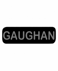 GAUGHAN Patch Large Black