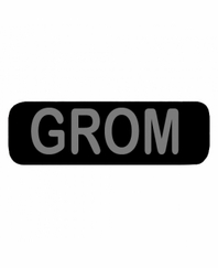 GROM Patch Large Black