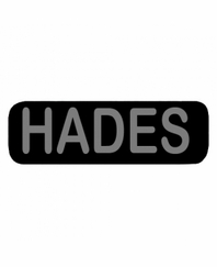 HADES Patch Large Black