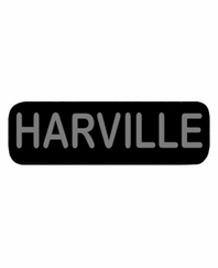 HARVILLE Patch Large (Black)