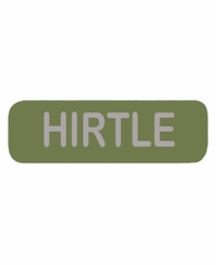 HIRTLE Patch Large OD