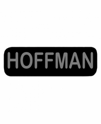 HOFFMAN Patch Small Black