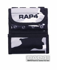 ID and Map Pouch for Tactical Ten Paintball Vest Urban Street Camo