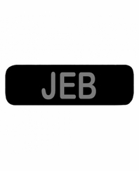 JEB Patch Small (Black)